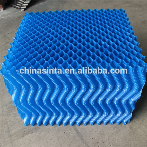 S Wave Pvc Rigid Sheet Used For Cooling Tower Cooling Tower S