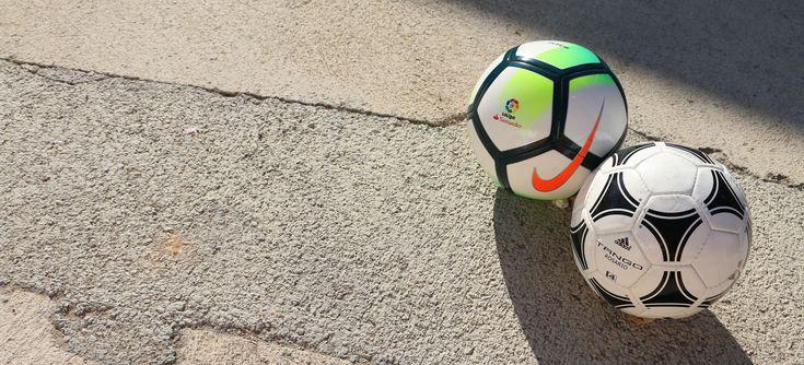 Balones fútbol 7. Nike La Liga Pitch. Adidas Tango Rosario. Fotografía: Marcela Sansalvador para futbolmania.com