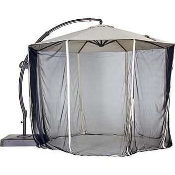 Garden Oasis Netting for 11.5' Offset Patio Umbrella