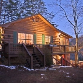 The Apple Creek Is Located In Ellijay, GA With The Most Beautiful View Of  The. Blue Ridge Cabin RentalsMountain ...
