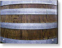 Durmast Barrel Acrylic Print by Cesare Bargiggia