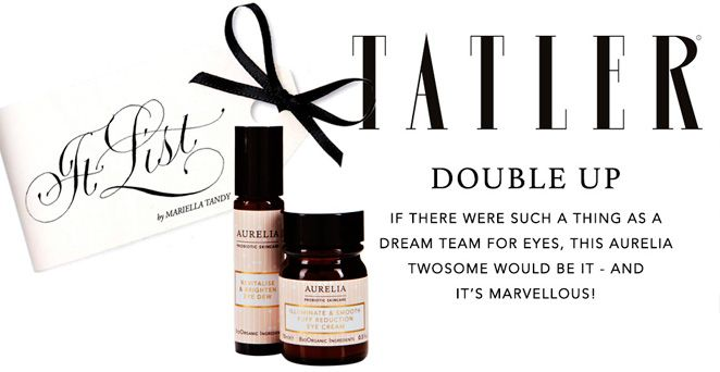 'If there were such a thing as dream team for eyes, this Aurelia twosome would be it - and it's marvelous!'