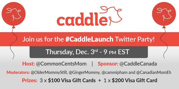 Attend the Caddle Twitter Party!