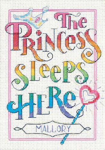 Dimensions Needlecrafts Counted Cross Stitch, The Princess $5.66