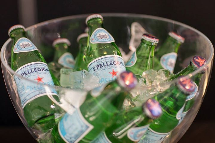 S.Pellegrino, the star of the event!