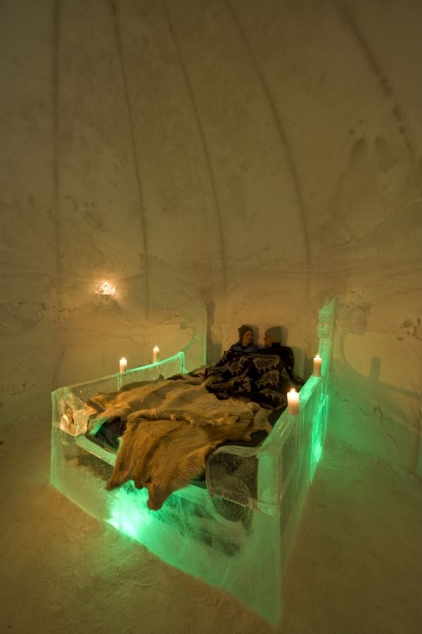 Ice hotel Norway