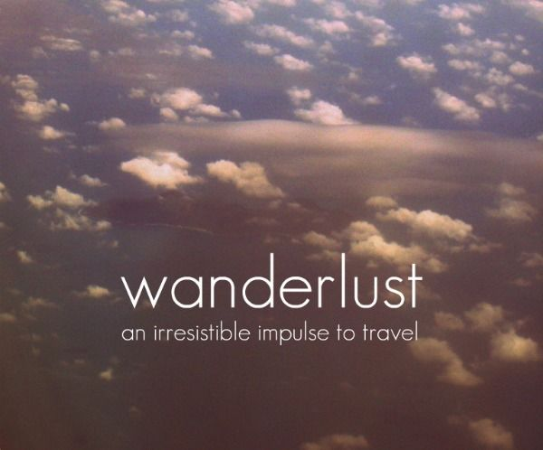 An irresistible impulse to travel