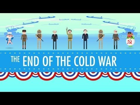 George HW Bush and the End of the Cold War: Crash Course US History #44 - CC Cycle 2 Week 21 History