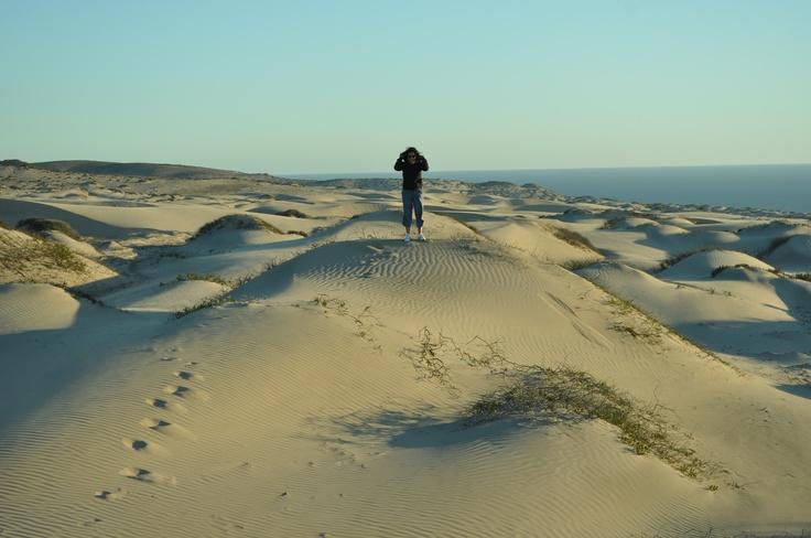 Mar de Dunas. Ubicada camino Costero entre Huasco y Caldera.