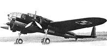 Polish bomber, the PZL.37 Łoś