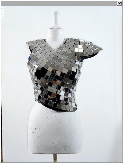 Maison Martin Margiela – The Artisanal Collection-mirror blouse