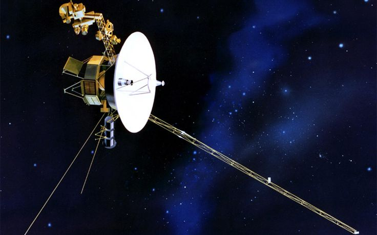 Earth to send final postcard to Voyager (Sarah Knapton, Telegraph, 17 Oct 2015) Caption: Voyager spacecraft carrying information about earth leaves the solar system
