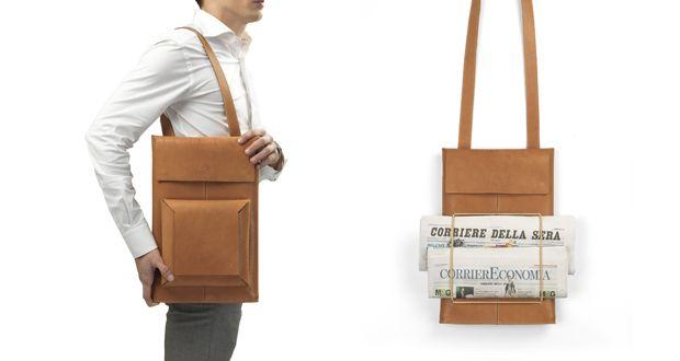 Borsa in pelle Macbook Sleeve Backpack http://www.differentdesign.it/borsa-pelle-macbook-sleeve-backpack/ Borsa in pelle #Macbook Sleeve Backpack può essere indossata come #valigetta, #zaino o #borsa a #tracolla.
