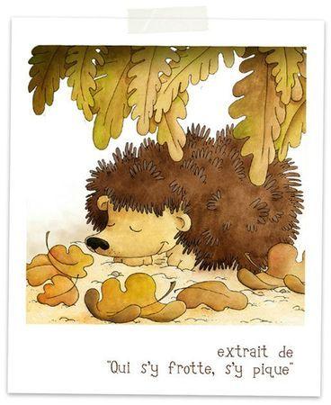"from the album ""Qui s'y frotte, s'y pique""  - Itak éditions"