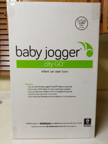Other Car Safety Seats 2987 Baby Jogger City Go Base Black Brand
