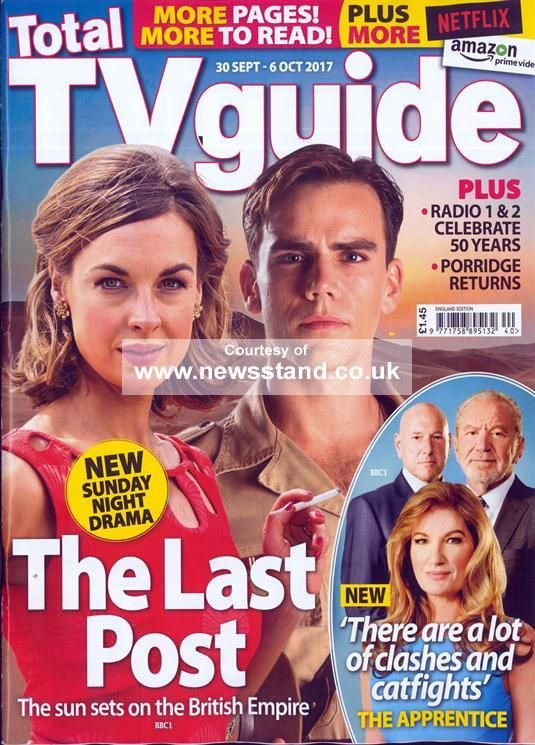 Total Tv Guide England Magazine Subscription | Buy at Newsstand.co.uk | Television