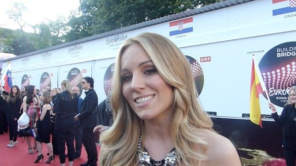 Edurne on the red carpet: Eurovision may be the best experience of my life