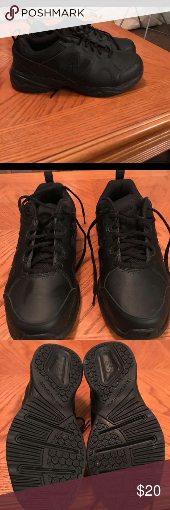 New Balance 609 v3 Mens Memory Sole  Size 11 4E New Balance Black 609 v3 Mens Memory Sole Shoes Size 11 4E EXTRA WIDE EU 43 MX609BZ3. These are in like new condition. May have been worn once if at all. New Balance Shoes Sneakers