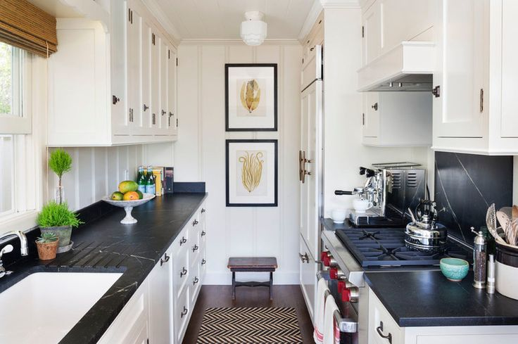 HOUZZ...Beach Style Kitchen by Clark Collins - Collins Design & Development