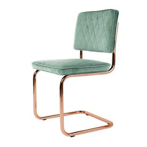 Zuiver Diamond Chair Minty Green. Prachtige stoel met koperen onderstel! Zen Lifestyle is gevestigd in Wijchen,  heeft showroom van 10.000 m². Natuurlijk vind je in onze winkel onze eigen producten, zoals ons aanbod vintage en retro banken, onze topsellers, zoals het vintage tv-dressoir Stan. Maar ook hebben wij de mooie collectie van Zuiver en Duchtbone en vind je er nog veel meer topmerken, zoals Be Pure, JouwMeubel, UrbanSofa, Fatboy, Makkii, Woood etc.
