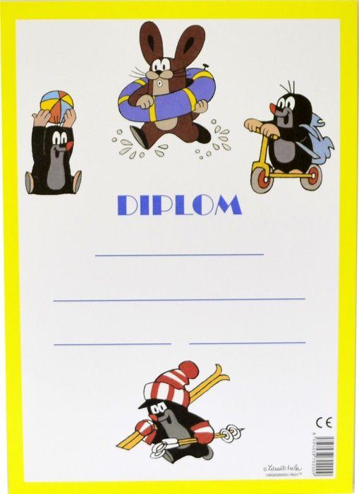 Diplom A4 - Krtek
