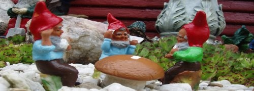Gnome In Garden: 49 Best Loads Of Gnomes Images On Pinterest