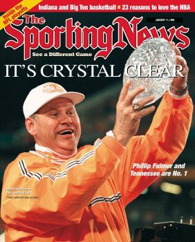 Tennessee Vols Coach Phillip Fulmer - National Champions - January, 11, 1999