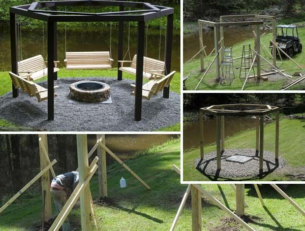 This is a great DIY campfire idea that has swinging benches all around it. It combines my two favorite activities: swinging and relaxing with friends near the campfire, at the same time, it lets us to stay warm on a cold night. A gentleman that goes by the name of Chenango Dave on bowhunters provides […]