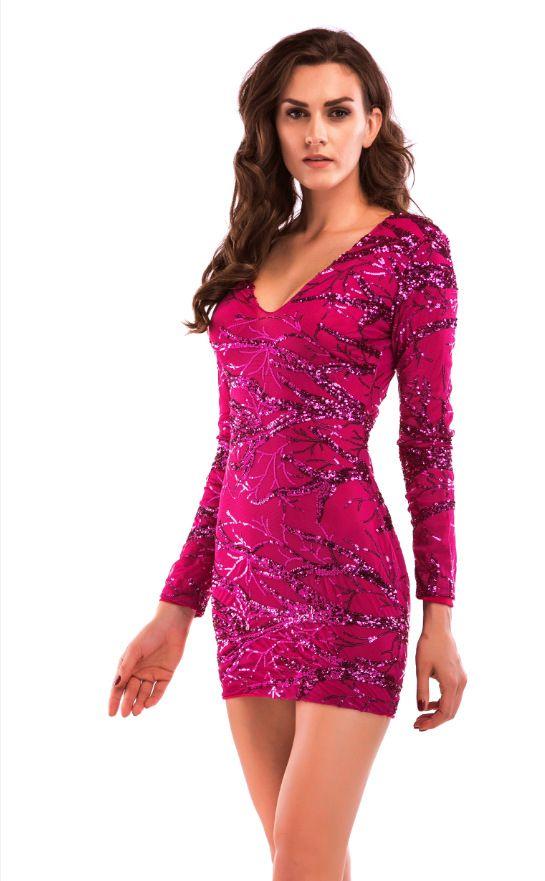 51 best Sequin derss images on Pinterest | Mini dresses, Curve mini ...