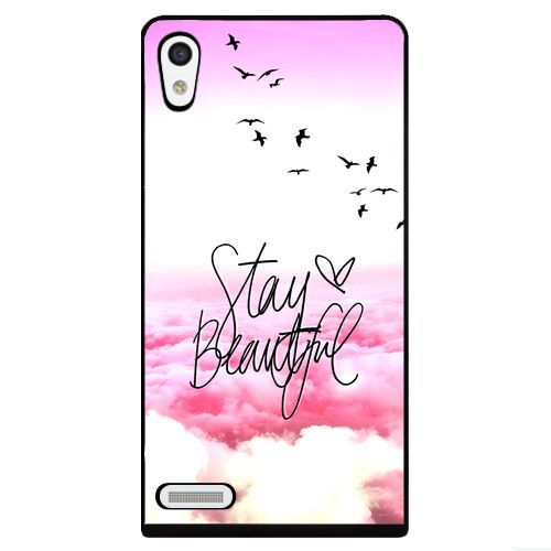 STAY BEAUTIFUL - HARD CASE / TPU - HUAWEI ASCEND P6 HOESJE