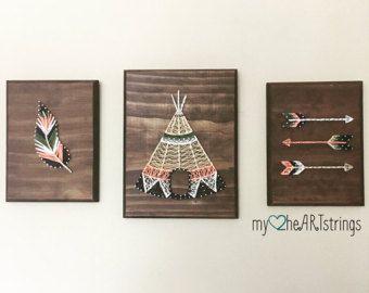 Pájaros en un alambre cadena muestra de arte by my2heARTstrings | Etsy