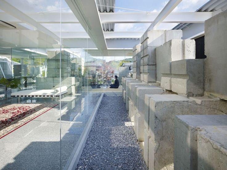 Glass House For Diver / Naf Architect U0026 Design   Concrete Blocks!