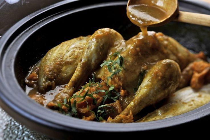 Tajine van kip met witloof   Lekker van bij ons