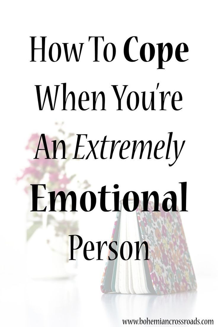 This is super helpful. I felt like I was being crazy because I'm so overly emotional sometimes.