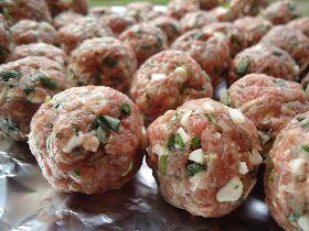 LCHF-bloggen: Greske kjøttboller med feta og oregano
