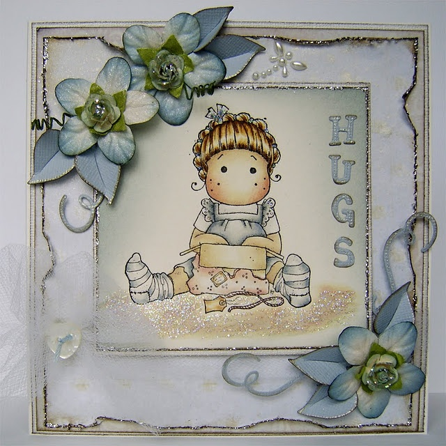 Unwrapped Tilda, So Jolly Collection, Magnolia stamps