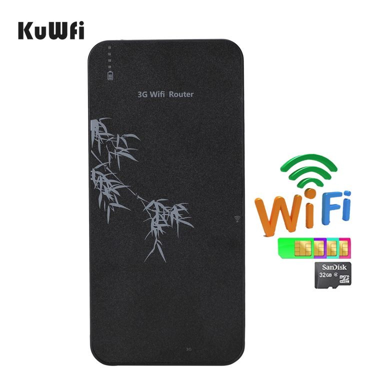 Smart Mobile Power Bank 3G Wireless Router Pocket WIFI Router With SIM Card Slot &RJ45 up to 5 wifi Users - https://www.kuwfi.shop/?product=1805&lang=en