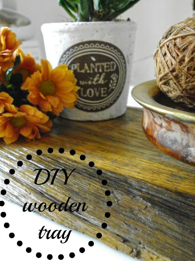 Art Decoration and Crafting-DIY wooden tray