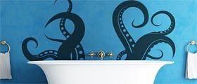 octopus bathtub