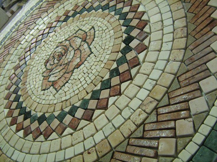 roseton de marmol 120
