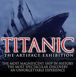 This was fantastic! Las Vegas shows - Titanic The Artifacts Exhibition