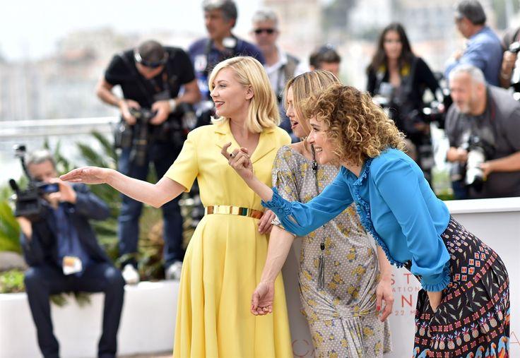 Kirsten Dunst, Vanessa Paradis e Valeria Golino Cannes 2016 - Giorno 1