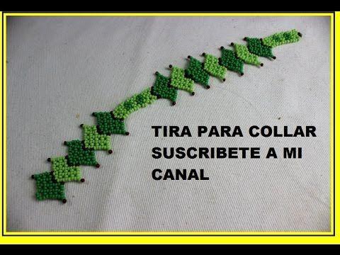 COMO HACER HOJAS PARA PULSERA Y COLLAR - YouTube Más
