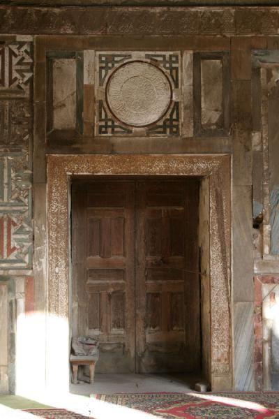 Al Maridani mosque , Cairo| Egypt Door of the Al Maridani mosque: old and worn