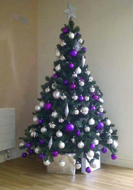 Como Decorar Tu Arbol De Navidad De Morado O Purpura Tendencias