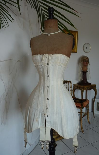 Casually come vintage 1910 corsets once