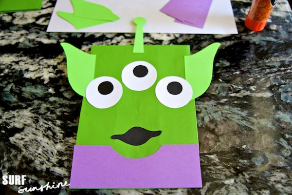 Here at the Kids Place Live studio, we love crazy crafts that are out of this world! Here's a Disney alien craft you and your child will love!