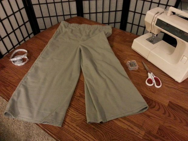 Picture of Pajama Pants, Without a Pattern