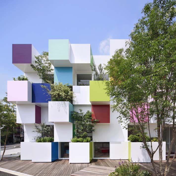 Sugamo Shinkin Bank by emmanuelle moureaux architecture   design in Saitama, Japan. #morfae   #emmanuellemoureaux   #shinkinbank   #architecture