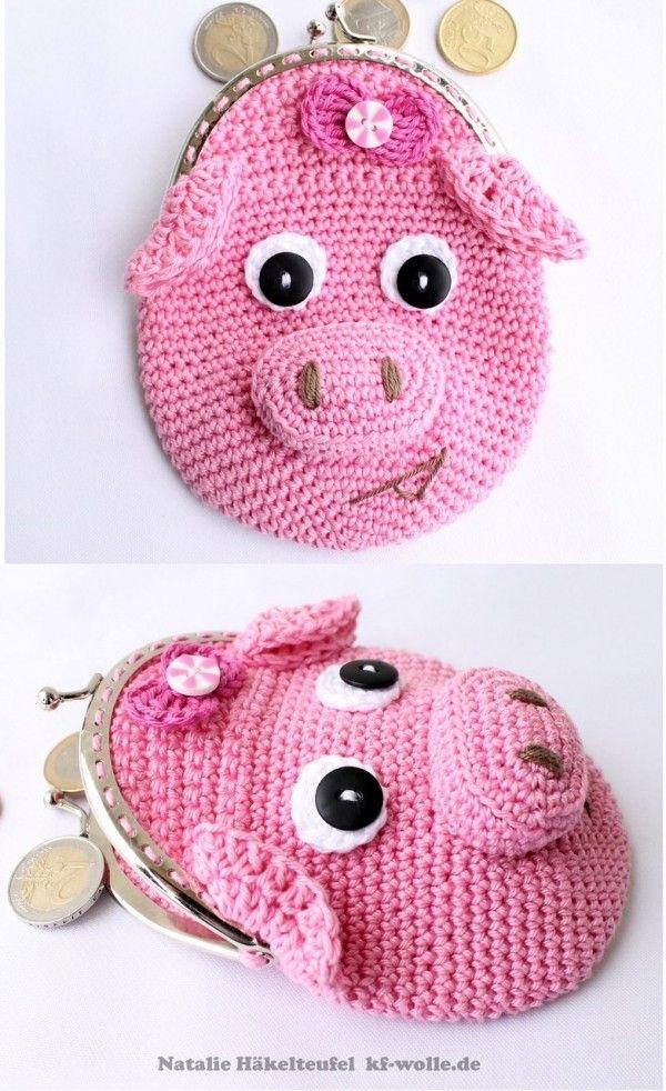 705 best Crochet I Like - Pigs, Piggies, Piglets images on Pinterest ...